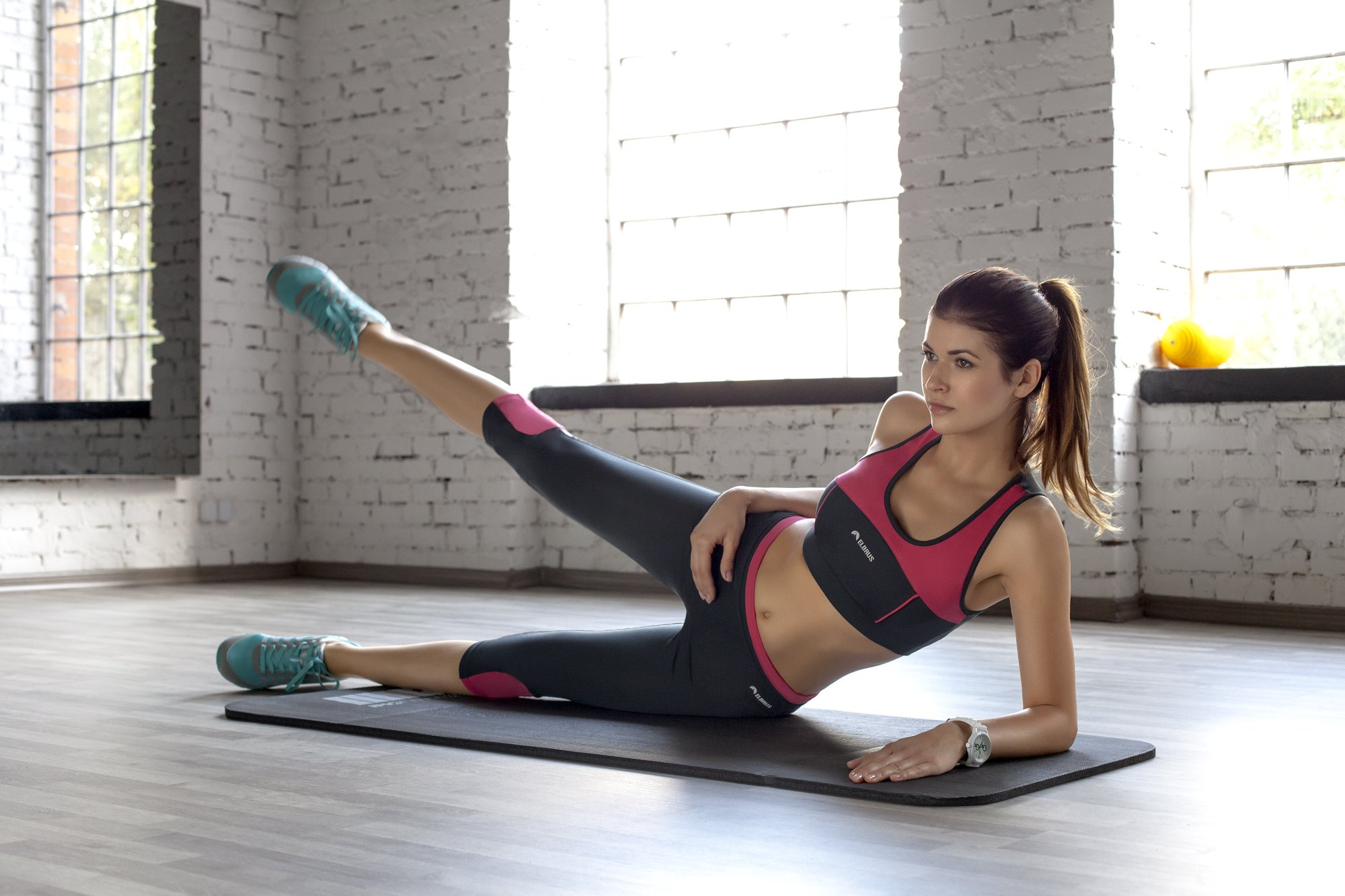 Odzież treningowa nazajęcia fitness