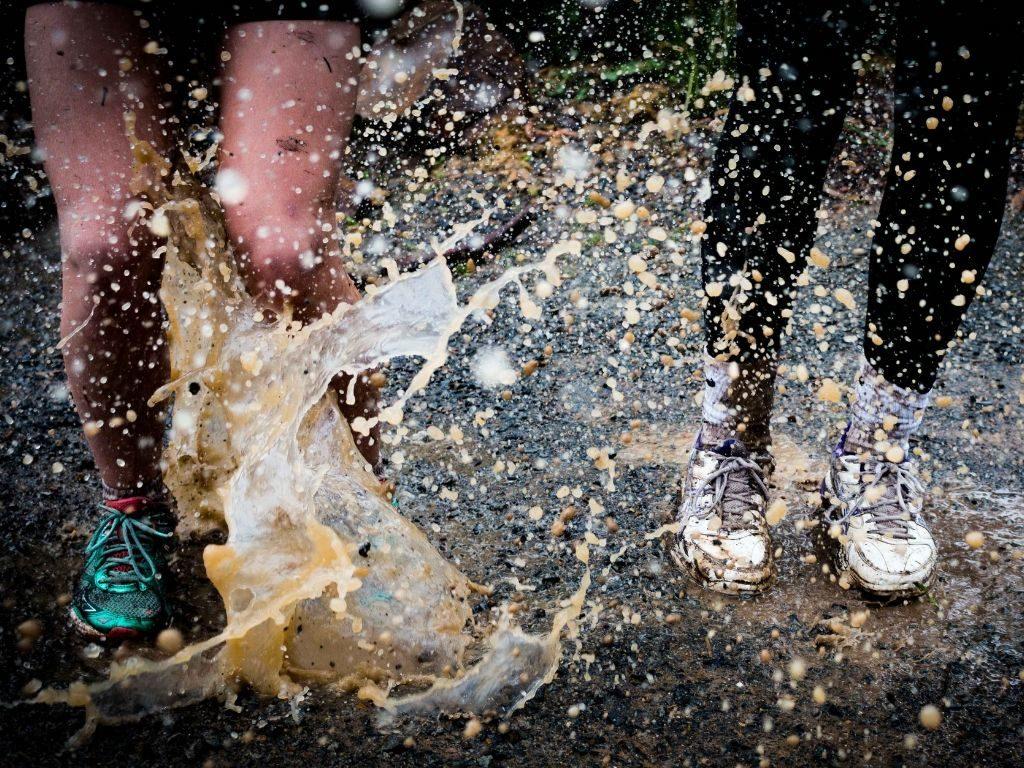 bieganie wdeszczu