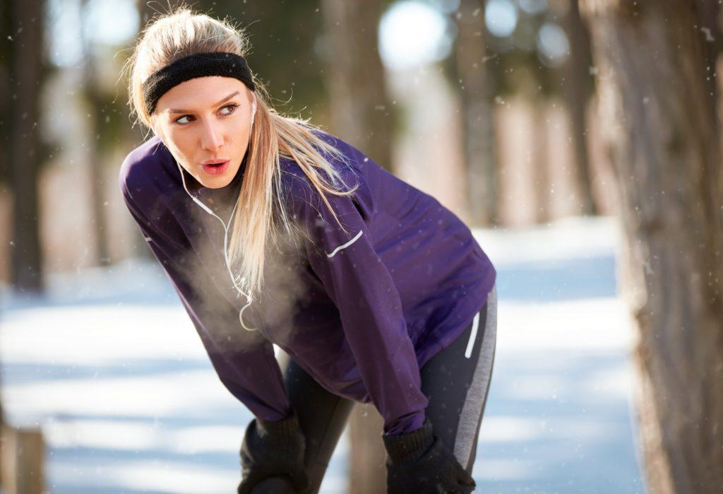 Bieganie zimą tolepsza wydolność
