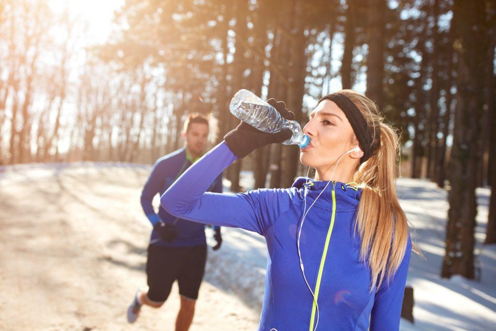 Nawodnienie podczas zimowych treningów