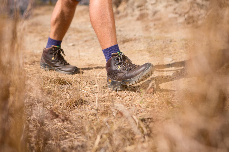 Buty trekkingowe znaturalnej skóry