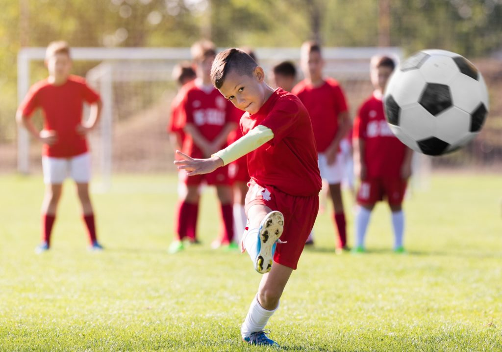 Odzież piłkarska dla dzieci