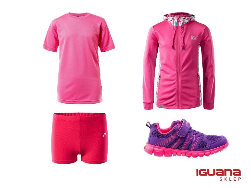 Strój nawf dla dziewczynki różowy