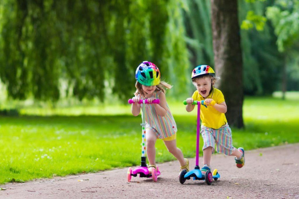 Hulajnogi dla młodszych dzieci