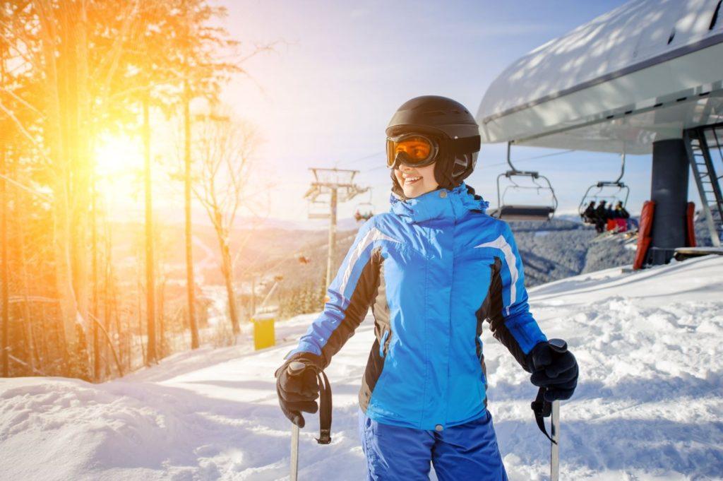 Kurtki narciarskie Brugi