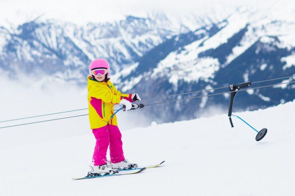 Dziecięca odzież narciarska