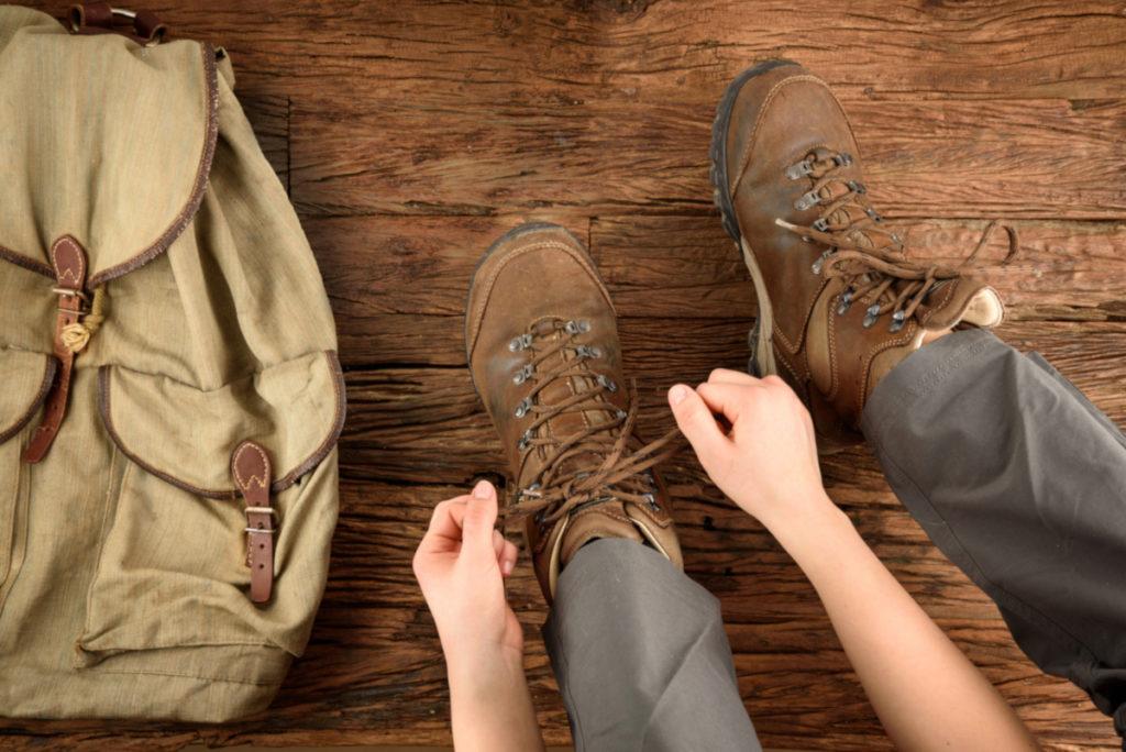Jak zasznurować buty trekkingowe