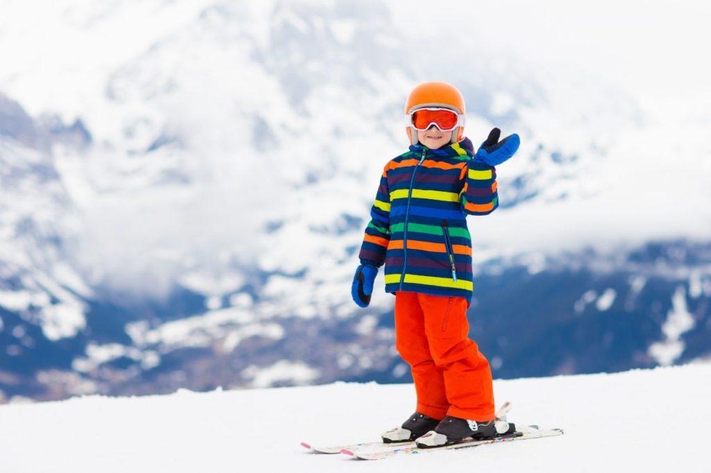 Kurtka ispodnie narciarskie dla dzieci
